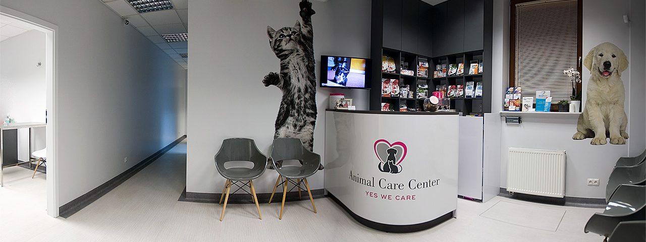 Recepcja Weterynarz Wilanów - Animal Care Center